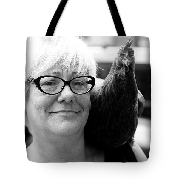 Mary's Chicken Tote Bag