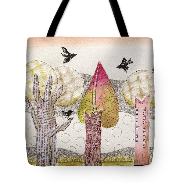 My Pink Trees Tote Bag