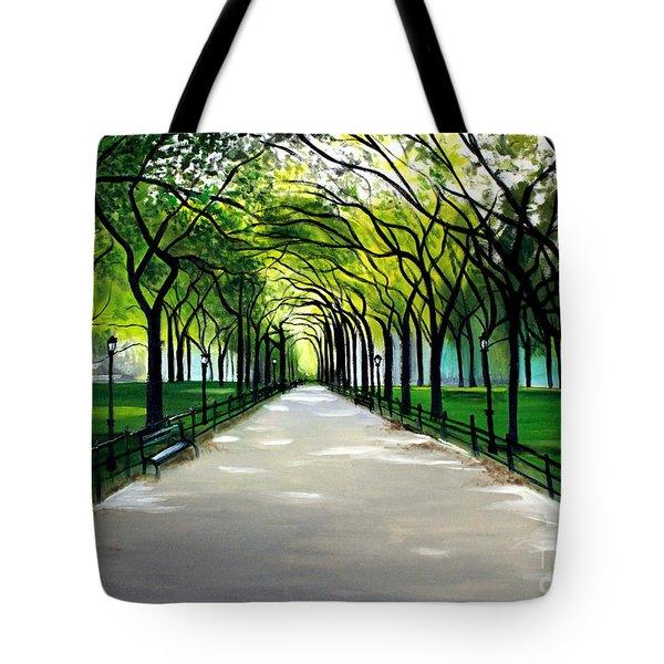 My Poet's Walk Tote Bag