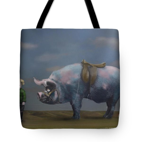 My Pony Tote Bag by Kathy Russell