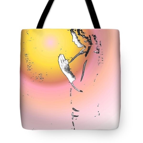 My Prayer To You Tote Bag