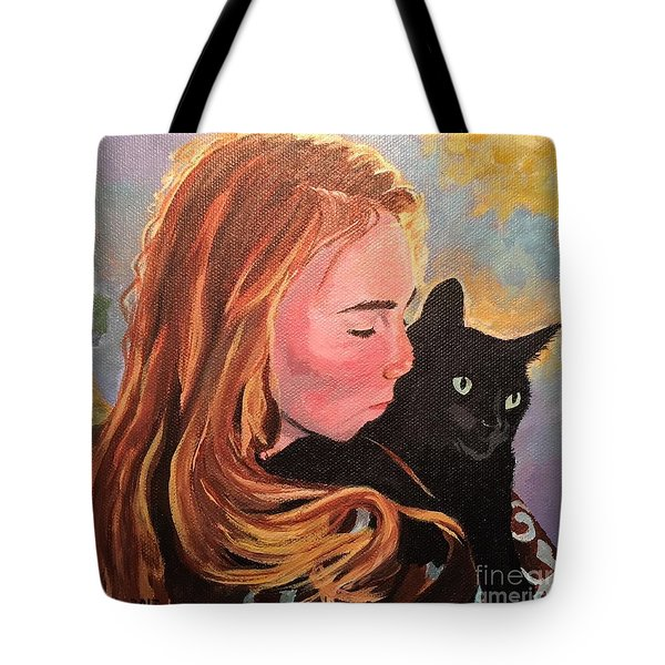 My Purring Friend Whiskers Tote Bag