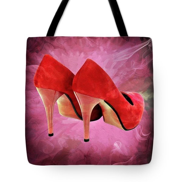 My Red Shoes Tote Bag by Ericamaxine Price