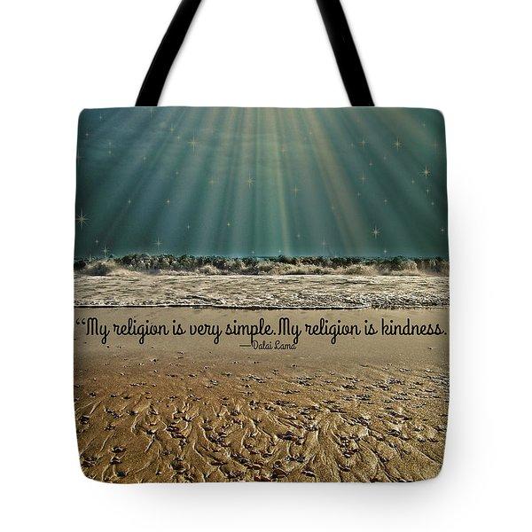 My Religion Tote Bag by Trish Tritz