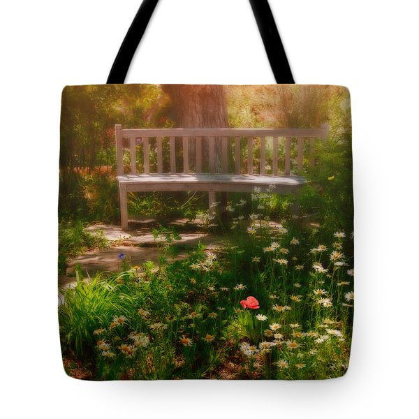 My Secret Place Tote Bag by Carolyn Dalessandro