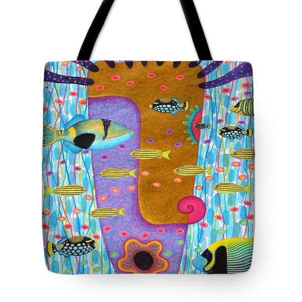 My Self  2 Tote Bag by Opas Chotiphantawanon