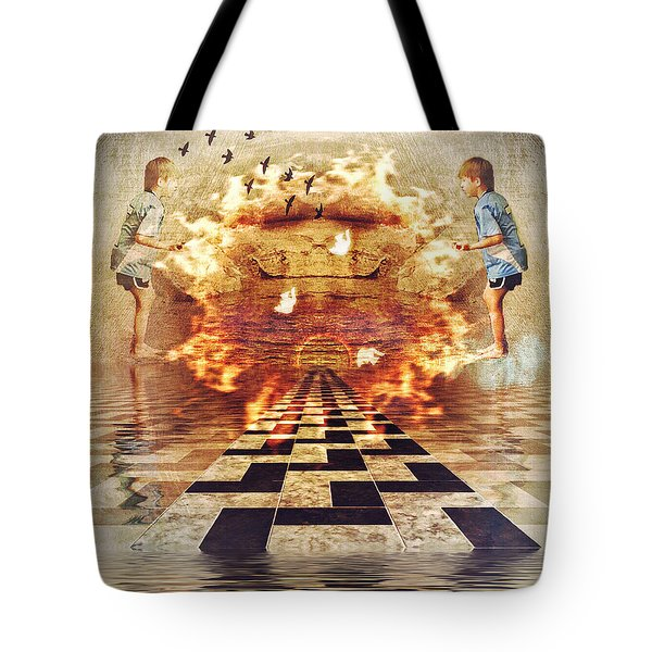 My Shadow's Reflection II Tote Bag