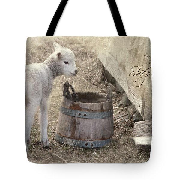Tote Bag featuring the photograph My Shepherd by Robin-Lee Vieira
