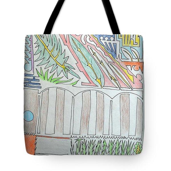 My Side Yard Tote Bag
