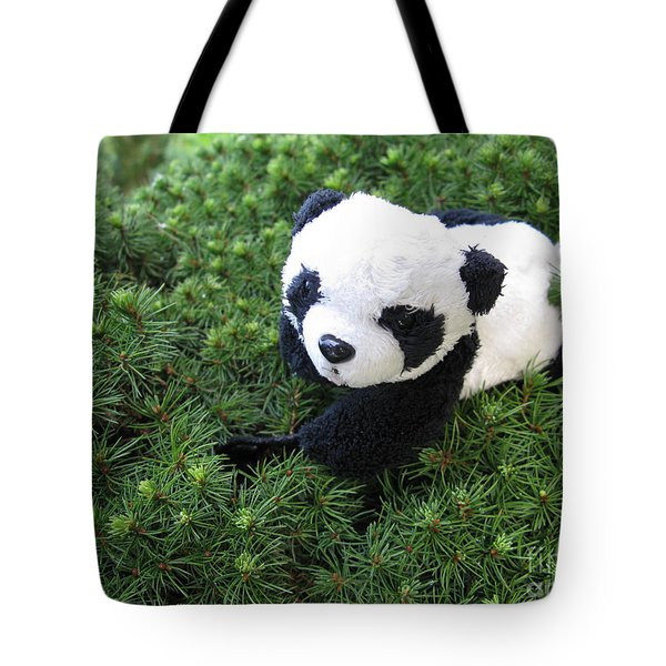 Tote Bag featuring the photograph My Soft Green Bed by Ausra Huntington nee Paulauskaite