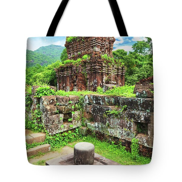 My Son Holy Land Tote Bag by MotHaiBaPhoto Prints