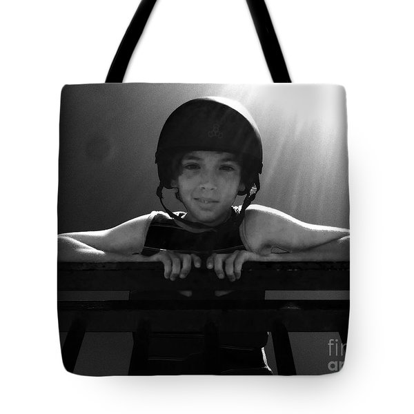 My Son My Sun Tote Bag by WaLdEmAr BoRrErO