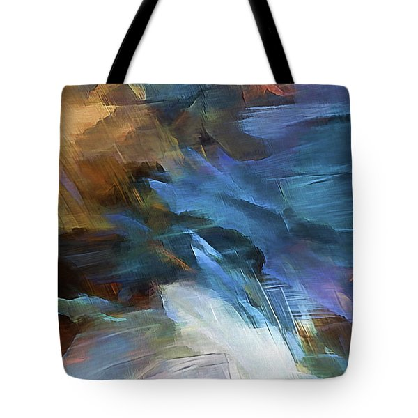 Tote Bag featuring the digital art My Soul Finds Rest In God by Margie Chapman