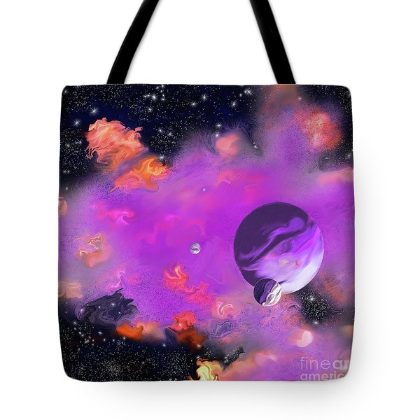 My Space Tote Bag by Methune Hively