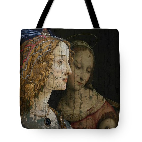 Tote Bag featuring the mixed media My Special Child by Paul Lovering
