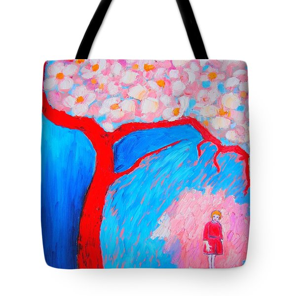 Tote Bag featuring the painting My Spring by Ana Maria Edulescu
