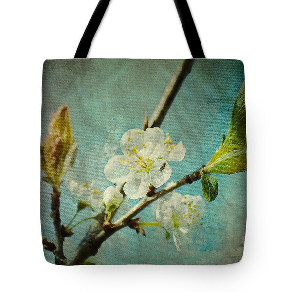 My Springtime Tote Bag by Angela Doelling AD DESIGN Photo and PhotoArt
