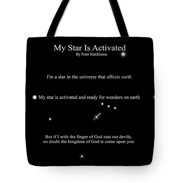 My Star Is Activated Tote Bag