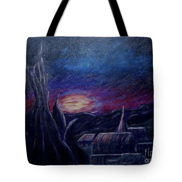 My Starry Night Tote Bag