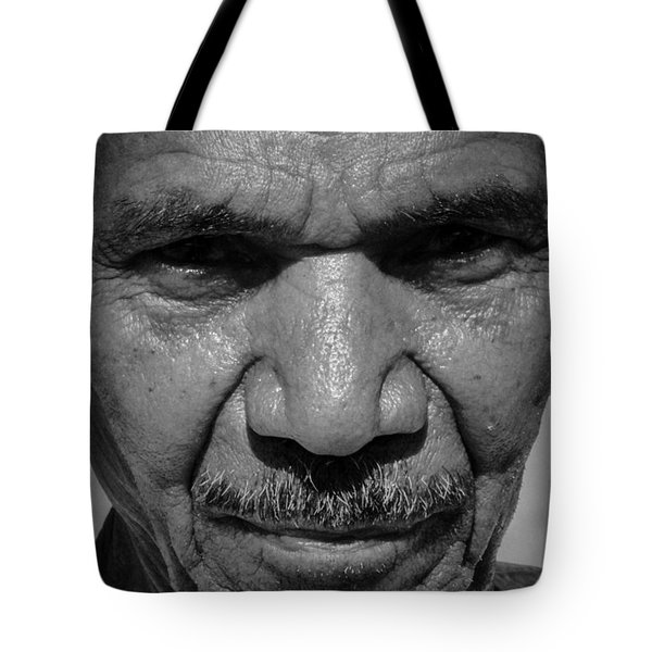 Tote Bag featuring the photograph My Stern Look by Jez C Self