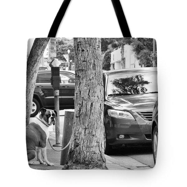 Tote Bag featuring the photograph My Street, Dude by Vinnie Oakes