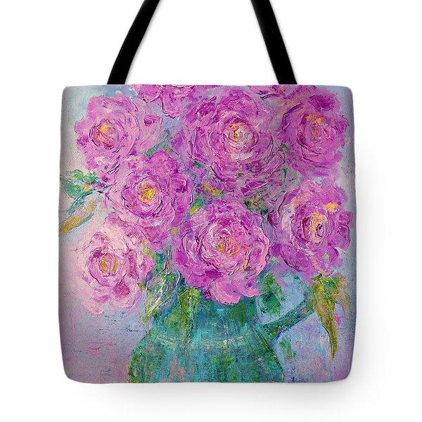 My Summer Roses Tote Bag