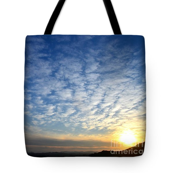 A Lonely Place To Pray Tote Bag