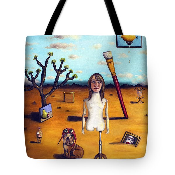 My Surreal Life Tote Bag by Leah Saulnier The Painting Maniac