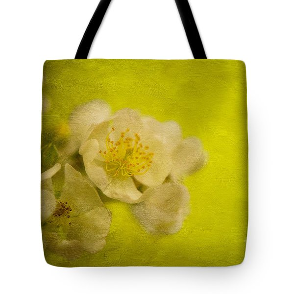My Sweet Wild Rose Tote Bag by Lois Bryan