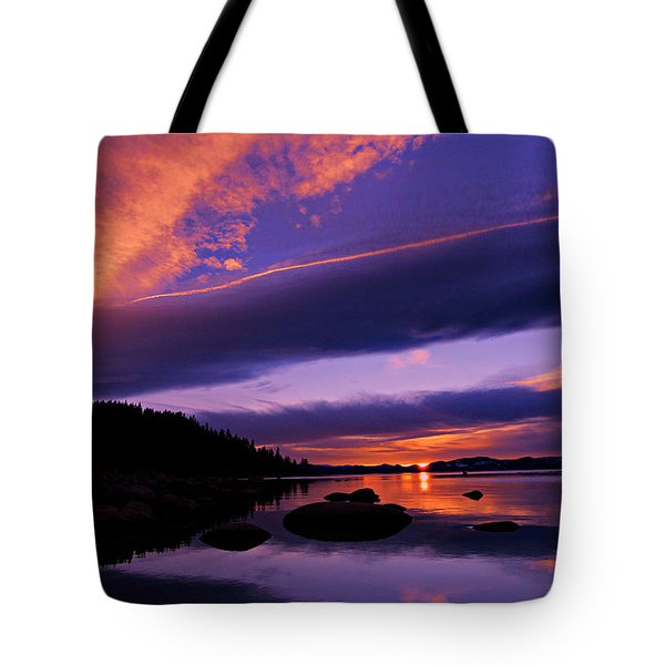 Tote Bag featuring the photograph My Tahoe by Sean Sarsfield