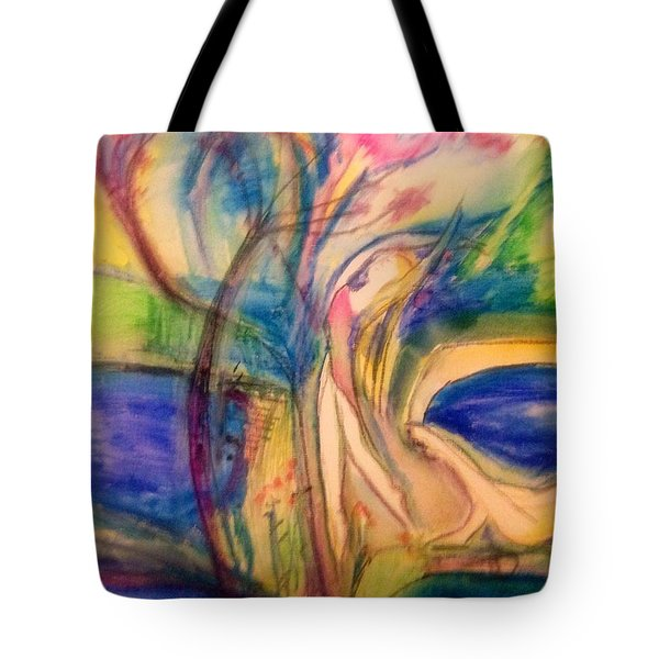 My Thoughts Are Always With You  Tote Bag