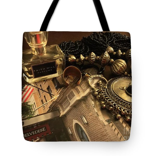 My Travel Feminine Accoutrements  Tote Bag