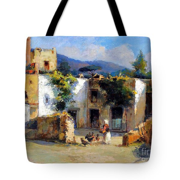 My Uncle Farm House Tote Bag