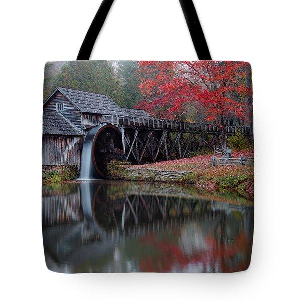 My Version Of Mabry Mills Virginia  Tote Bag