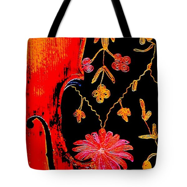 My Violin On Barcelona Shawl Tote Bag