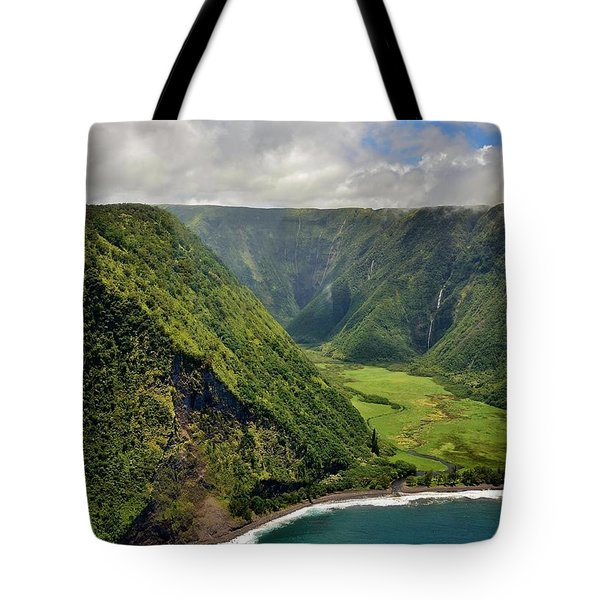 My Waterfall Valley  Tote Bag