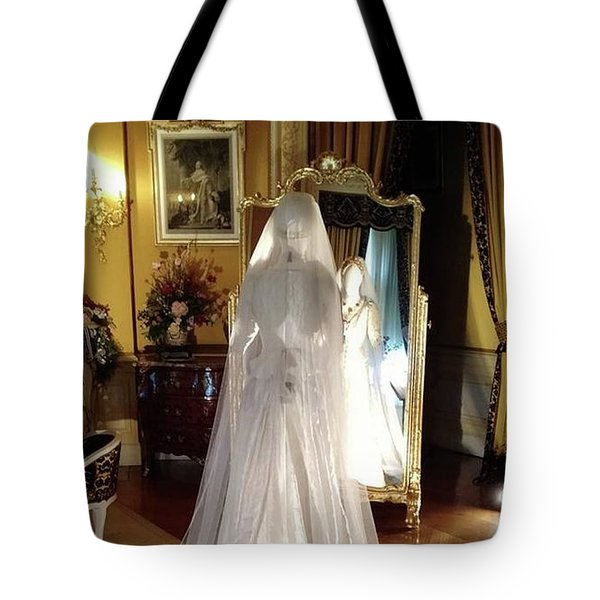 My Wedding Gown Tote Bag by Gary Smith