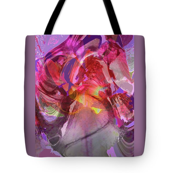 My Wild Iris Glows - Floral Abstract - Photography Tote Bag