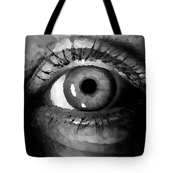 My Window In Bw Tote Bag
