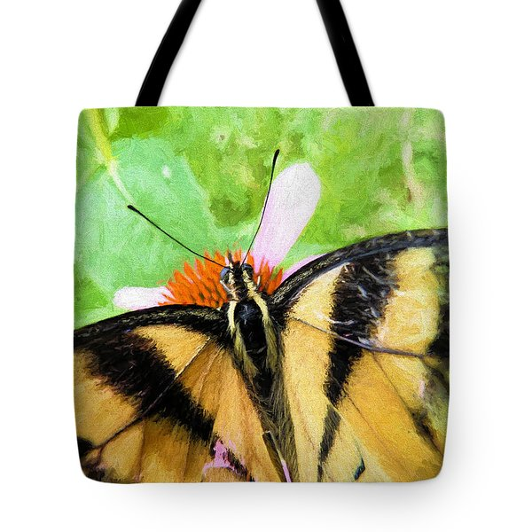 Tote Bag featuring the photograph My World by JC Findley