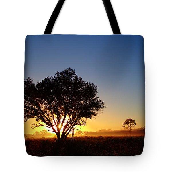 Myakka Sunrise Tote Bag