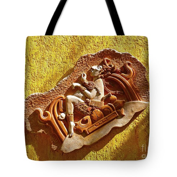 Tote Bag featuring the photograph Myan Wall Art by Francesca Mackenney