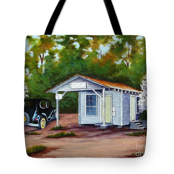 Myers Mill Post Office Tote Bag
