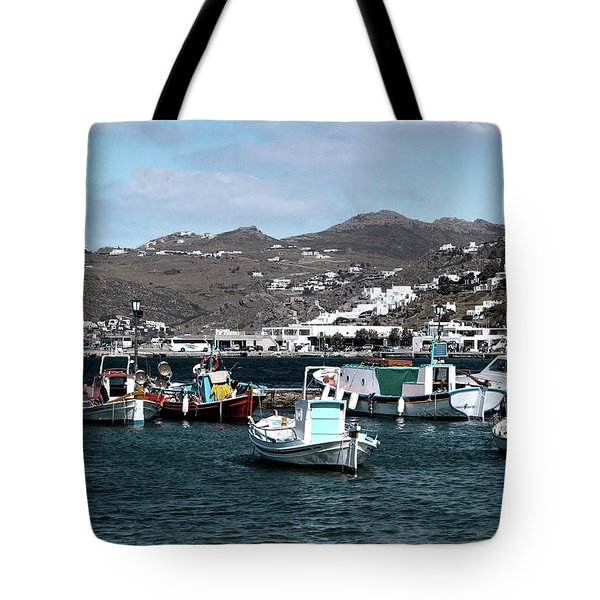 Tote Bag featuring the photograph Mykonos Greece II by Tom Prendergast