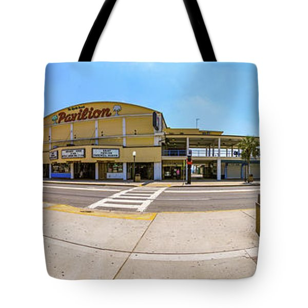 Myrtle Beach Pavilion Building Tote Bag