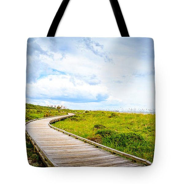 Myrtle Beach State Park Boardwalk Tote Bag