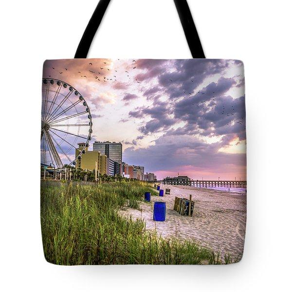 Myrtle Beach Sunrise Tote Bag