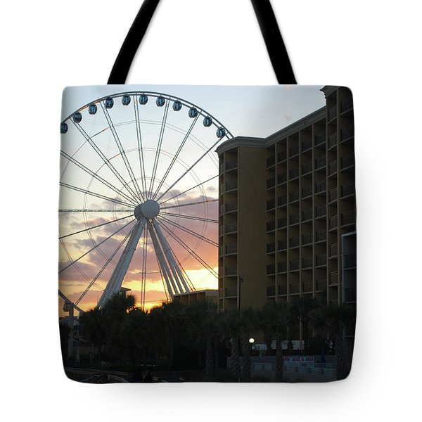 Myrtle Beach Sunset 2 Tote Bag