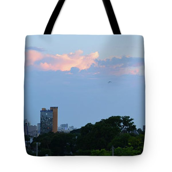 Myrtle Beach Sunset Tote Bag by Gordon Mooneyhan