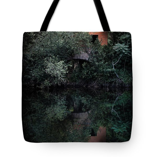 Tote Bag featuring the photograph Myself In The Water by Edgar Laureano